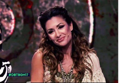 Nagore Robles disfrazada por Halloween 2016 en  'Gran Hermano: El debate'