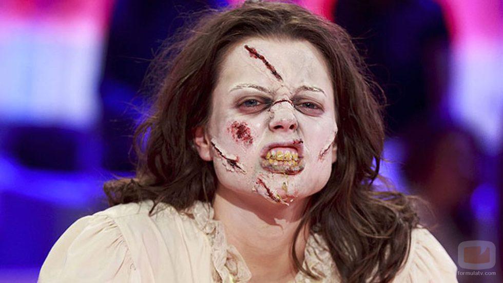 Adriana Torrebejano se disfraza por Halloween 2016 en 'Pasapalabra'