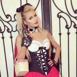 Paris Hilton se disfraza por Halloween 2016