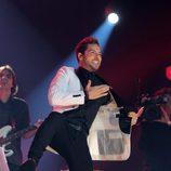 David Bisbal durante su actuación en el concierto de 'OT. El reencuentro'