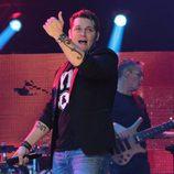 Manu Tenorio actuando en el concierto de 'OT. El reencuentro'