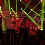 Las chicas en su actuación en el concierto de 'OT. El reencuentro'