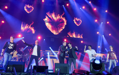 La actuación de los chicos en el concierto de 'OT. El reencuentro'