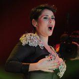 """Una imperial Rosa López interpreta """"Sueña"""" en dúo con Chenoa en el concierto de 'OT. El reencuentro'"""
