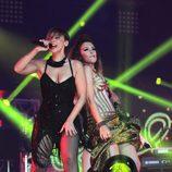 "Chenoa canta junto a Gisela y Verónica Romero ""Lady Marmalade"""