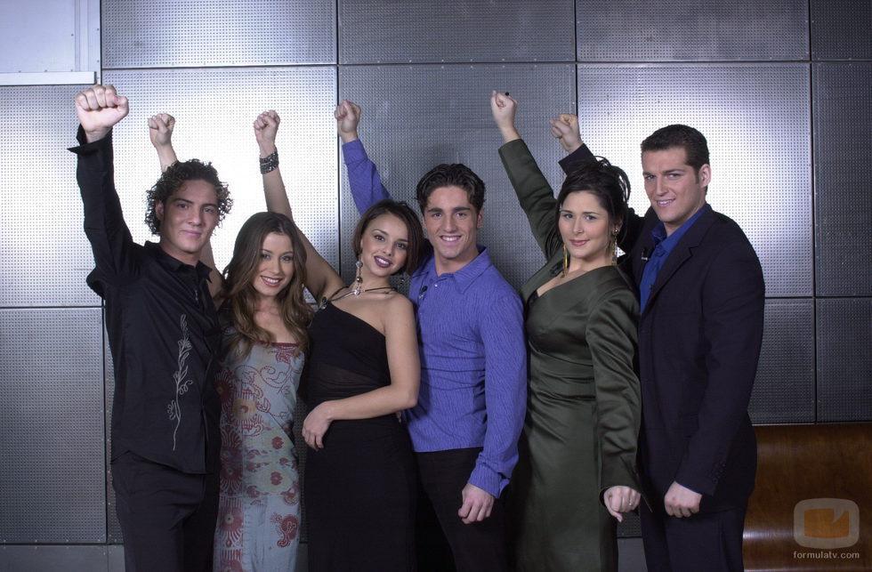 Los primeros finalistas de la primera edición de 'Operación Triunfo'