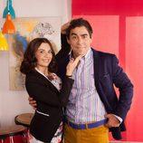 Miren Ibarguren y Pablo Chiapella interpretan a Yoli y Amador en 'La que se avecina'