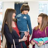 Alba está emocionada con su nuevo hermano en 'La que se avecina'