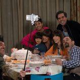 Selfie de Coque con la familia Recio en 'La que se avecina'
