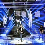 Canco Rodríguez es Nirvana en la quinta gala de 'Tu cara me suena'