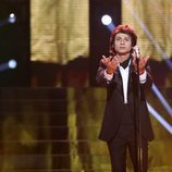 """Frank Diago canta """"Hoy tengo ganas de ti"""" de Miguel Gallardo en la quinta gala de 'Tu cara me suena'"""