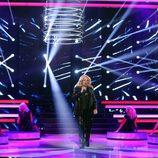 Juan Muñoz imita a Bonnie Tyler durante la quinta gala de 'Tu cara me suena'