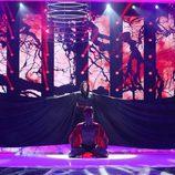 Rosa López interpreta a Madonna durante la quinta gala de 'Tu cara me suena'