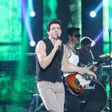 David Guapo interpreta a Los Ronaldos en la quinta gala de 'Tu cara me suena'