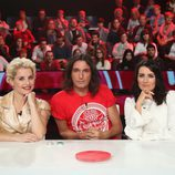 Soraya Arnelas, Rafa Méndez y Silvia Abril son el jurado del nuevo talent show 'Tú sí que sí'