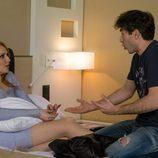Judith mantiene una conversación con su novio Gabi en 'La que se avecina'