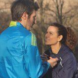 Diana Palazon y Jesús Olmedo en 'Nacidos para correr'