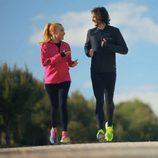 Berta Collado y Jon Arias en 'Nacidos para correr'