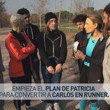 Soraya Arnelas y Auryn en 'Nacidos para correr'