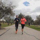 Fonsi Nieto y Desirée Ndjambo en 'Nacidos para correr'