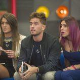 Clara, Rodrigo y Bea en 'Gran Hermano 17'