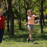 Marta Larralde y Juan Muñoz en 'Nacidos para correr'