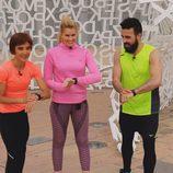 Adriana Abenia y Huecco en 'Nacidos para correr'
