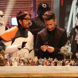 Flipy y Eduardo Aldán en 'Espinete no existe' de TVE