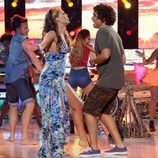 Lorena Gómez y Xuso Jones cantan en dúo en la sexta gala de 'Tu cara me suena'