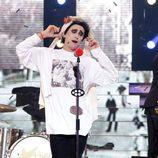Canco Rodríguez imita a Robert Smith en la sexta gala de 'Tu cara me suena'