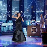 Beatriz Luengo da vida a Isabel Pantoja en la sexta gala de 'Tu cara me suena'