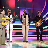 Juan Muñoz interpreta a Peret en la sexta gala de 'Tu cara me suena'