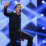 Blas Cantó imitando Ricky Martin en la sexta gala de 'Tu cara me suena'