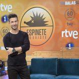 Eduardo Aldán será el presentador de 'Espinete no Existe'
