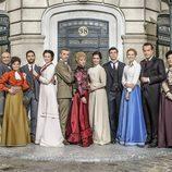 El elenco renovado de 'Acacias 38'