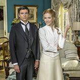 Laura Rozalén y Jordi Coll son Simón y Elvira, los nuevos personajes de 'Acacias 38'