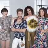 Natalia Ferviú, Pelayo Díaz, Cristina Rodríguez y Marta Torné, el equipo de 'Cámbiame'
