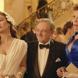 Blanca Suárez actuando junto a Emilio Gutiérrez Caba y Belinda Washington en 'Lo que escondían sus ojos'