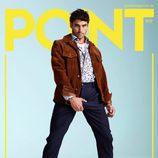 Álex García se agarra el paquete en la portada de la revista