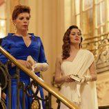 Cristina de Inza, Belinda Washington y Blanca Suárez actuando juntas en 'Lo que escondían sus ojos'
