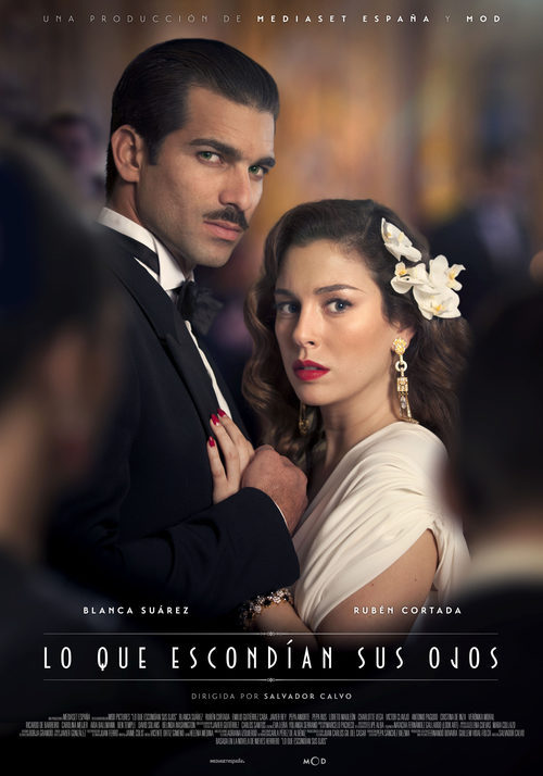El cartel promocional de la nueva miniserie de Telecinco llamada 'Lo que escondían sus ojos'
