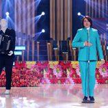 Yolanda Ramos imita Jean Jacques en la séptima gala de 'Tu cara me suena'