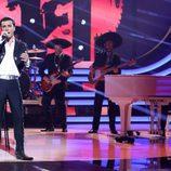 Blas Cantó imitando a Alejandro Fernández en la séptima gala de 'Tu cara me suena'