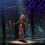 Lorena Gómez imita a Adele en la séptima gala de 'Tu cara me suena'