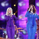 Verónica Romero y Rosa López son ABBA en la séptima gala de 'Tu cara me suena'