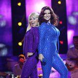 Verónica Romero y Rosa López encarnan a ABBA en la séptima gala de 'Tu cara me suena'