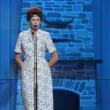 Esther Arroyo en el escenario de 'Tu cara me suena' intepretando a Patsy Cline en la séptima gala de 'Tu cara me suena'
