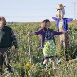 Antonio y Berta disfrutan del campo de Villazarcillo en 'La que se avecina'