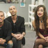 Rodrigo, Miguel y Adara muy atentos a las nominaciones de los familiares