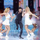 Canco Rodríguez es Chayanne en la octava gala de 'Tu cara me suena'
